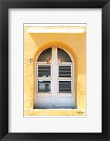 Framed Beach House Window