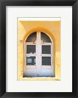 Framed Beach House Window
