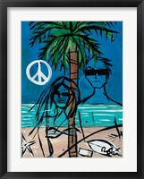 Framed Peace and Love