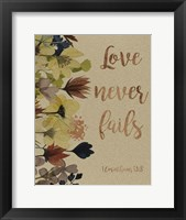 Divine Romance I Framed Print