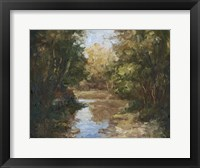 Framed Winding River