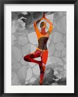Yoga Pose I Framed Print