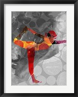 Yoga Pose II Framed Print