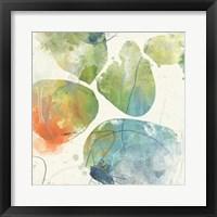 Color Motion I Framed Print