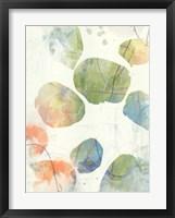 Color Motion III Framed Print