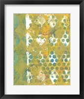 Harlequin Abstract I Framed Print