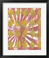 Harlequin Abstract II Framed Print