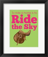 Framed Ride the Sky
