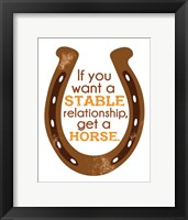 Framed Horseshoe Quote 2