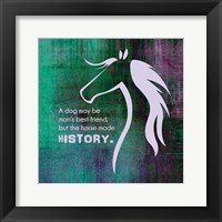 Framed Horse Quote 13