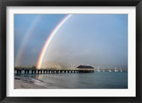 Framed Rainbows at Hanalei
