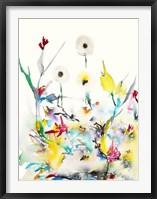 Framed Summer Garden VI