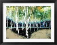 Framed White Trees