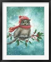 Framed Owl-lelujah!