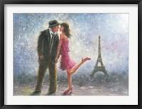 Framed Paris Love