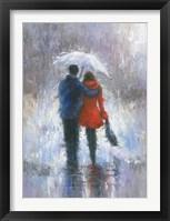 Framed Rain Romance
