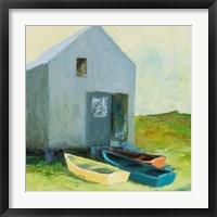 Framed Boat House