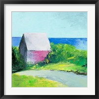 Framed Pink House