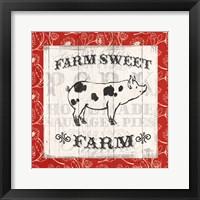 Farmers Market I Framed Print