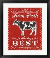 Framed Farmers Market VII
