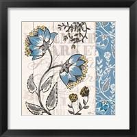 Blooming Season I Framed Print