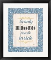 Blooming Season V Framed Print