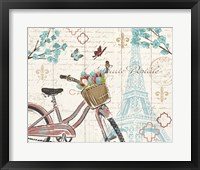 Paris Tour I Framed Print