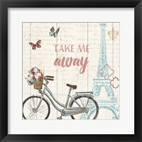 Paris Tour III Framed Print