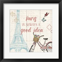 Paris Tour IV Framed Print
