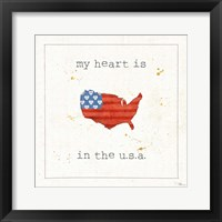 USA Cuties II Framed Print