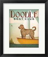Doodle Sail Framed Print