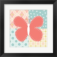 Baby Quilt III Framed Print