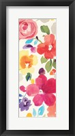 Popping Florals II Framed Print