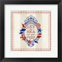 Nautical Wisdom III Framed Print