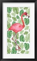 Tropical Flamingo I Framed Print