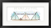 Girlfriends Cabin VIII Framed Print