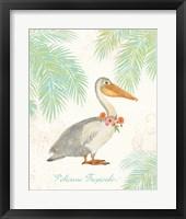 Framed Flamingo Tropicale I