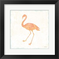 Framed Flamingo Tropicale VI