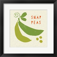 Summer Vegetable III Framed Print