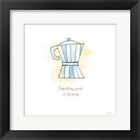 Good Brew I Framed Print