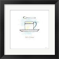 Good Brew III Framed Print