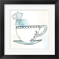 Good Brew VII Framed Print