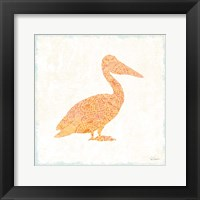 Flamingo Tropicale IX Framed Print