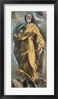 Framed Saint Peter