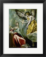 Framed Annunciation c. 1600