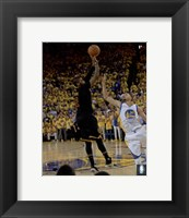 Framed Kyrie Irving Three Pointer Game 7 of the 2016 NBA Finals