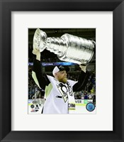 Framed Patric Hornqvist with the Stanley Cup Game 6 of the 2016 Stanley Cup Finals