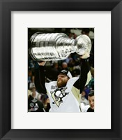 Framed Phil Kessel with the Stanley Cup Game 6 of the 2016 Stanley Cup Finals