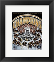 Framed Pittsburgh Penguins 2016 Stanley Cup Champions Composite