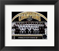 Framed Pittsburgh Penguins 2016 Stanley Cup Champions Team Sit Down